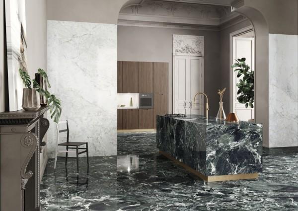 Aosta Green Marble