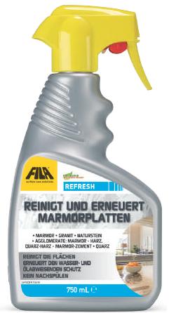 FILA REFRESH: Reiniger und Fleckschutzmittel