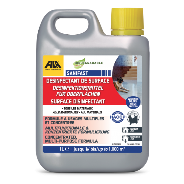 FILA SANIFAST: Desinfektionsmittel für Oberflächen