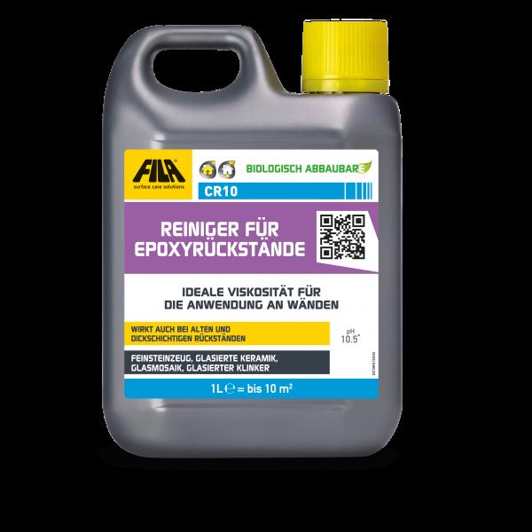 FILA CR10: Reiniger für Epoxyrückstände