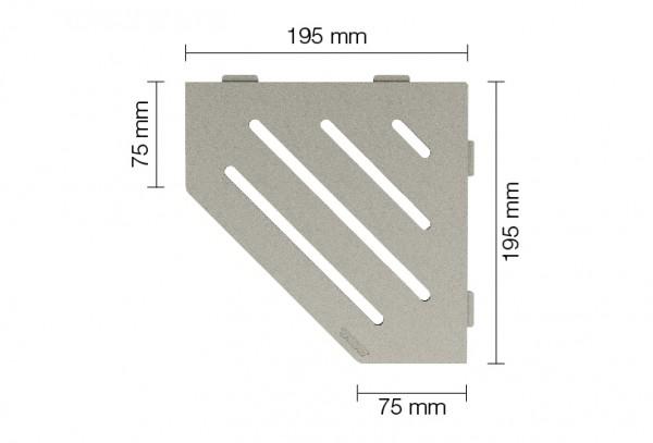 SHELF-E-S2 Duschablage / Ablagen für Bad und Küchenzeilen