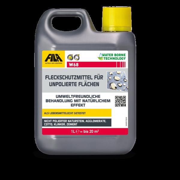FILA W68: Fleckschutzmittel für unpolierte Oberflächen